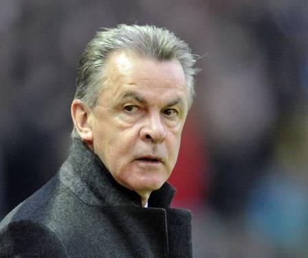 Coach Ottmar Hitzfeld before the game - Ottmar-Hitzfeld