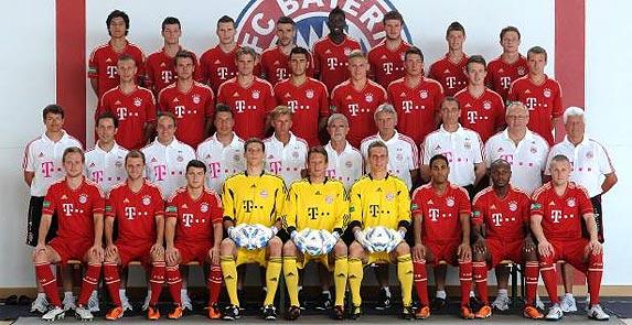 FC Bayern II team photo
