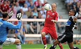 Bayern München 5-0 Hamburg