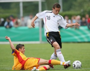 Vržogić played for Germany's youth teams