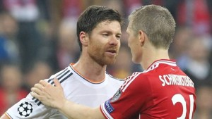 From competitors to competitors, Alonso & Schweinsteiger