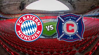 Bayern Munich vs Chicago Fire Soccer Club