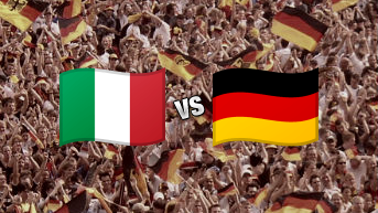 Italy vs Germany