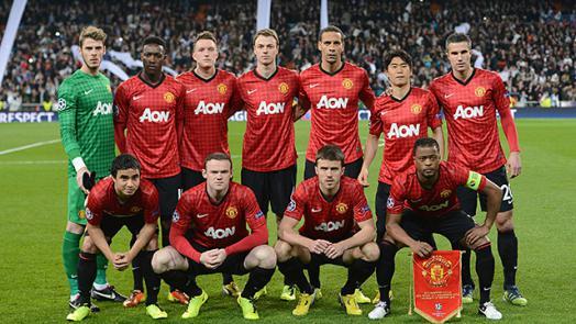 Манчестер юнайтед 2008 составы