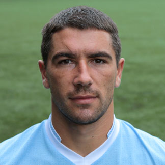 The 32-year old son of father (?) and mother(?), 187 cm tall Aleksandar Kolarov in 2018 photo