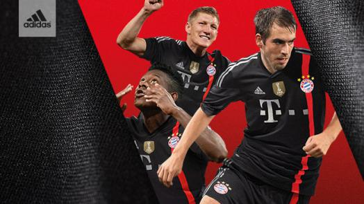 new style 71e6c 9700b The new 2014/15 Champions League kit : Official FC Bayern ...