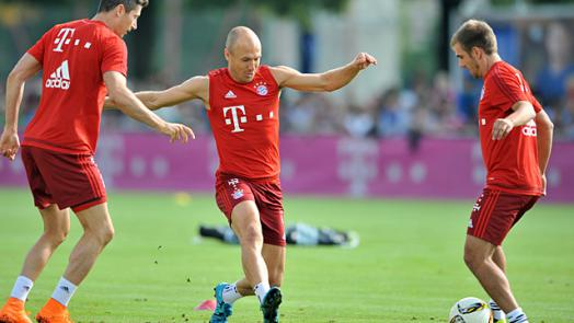 Robben: I'm ready, willing and able : Official FC Bayern
