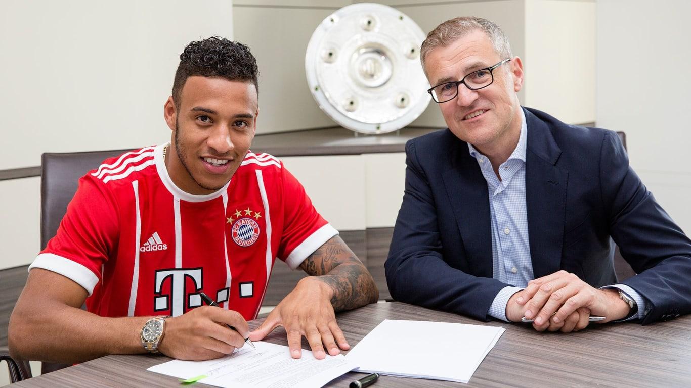 FC Bayern sign Corentin Tolisso ficial FC Bayern News