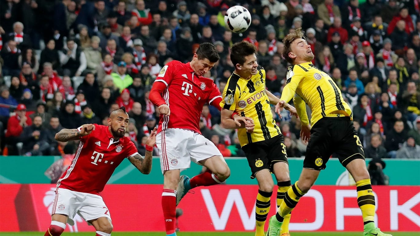 Seventh Bayern v Dortmund Cup tie on the bounce : Official ...