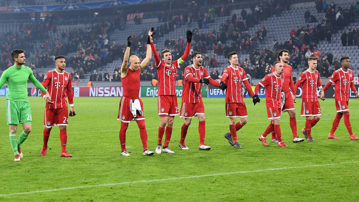 FC Bayern on course for UCL quarter-finals : Official FC ...